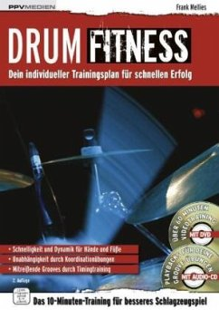 Drum Fitness, m. DVD u. Audio-CD