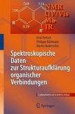 Spektroskopische Daten zur Strukturaufklärung organischer Verbindungen