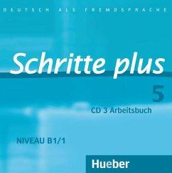 Audio-CD zum Arbeitsbuch mit interaktiven Übungen / Schritte plus - Deutsch als Fremdsprache Bd.5