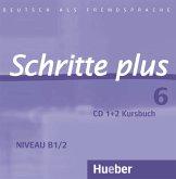 2 Audio-CDs zum Kursbuch / Schritte plus - Deutsch als Fremdsprache Bd.6