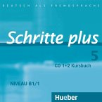 2 Audio-CDs zum Kursbuch / Schritte plus - Deutsch als Fremdsprache Bd.5