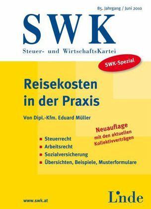 Reisekosten in der Praxis (f. Österreich) - Müller, Eduard