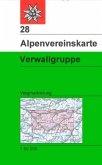 Alpenvereinskarte Verwallgruppe