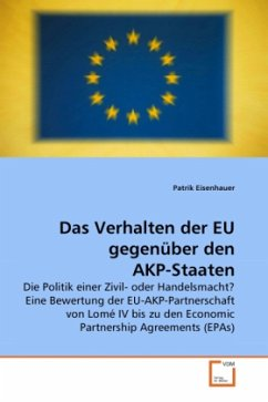 Das Verhalten der EU gegenüber den AKP-Staaten