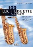 100 leichte Duette für 2 Altsaxophone oder 2 Tenorsaxophone; 100 Easy Duets for 2 Alto Sax or 2 Tenor Sax