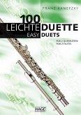 100 leichte Duette für 2 Querflöten; 100 Easy Duets for 2 Flutes