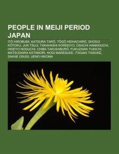 People in Meiji period Japan