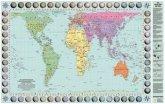 Peters Orthogonale Weltkarte, Posterkarte