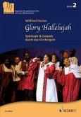 Glory Hallelujah. 3-stimmiger gemischter Chor (SABar) und Klavier