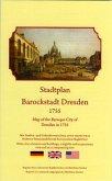 Stadtplan Barockstadt Dresden 1755