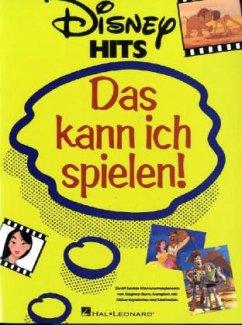 Disney Hits - Das kann ich spielen!, für Klavier