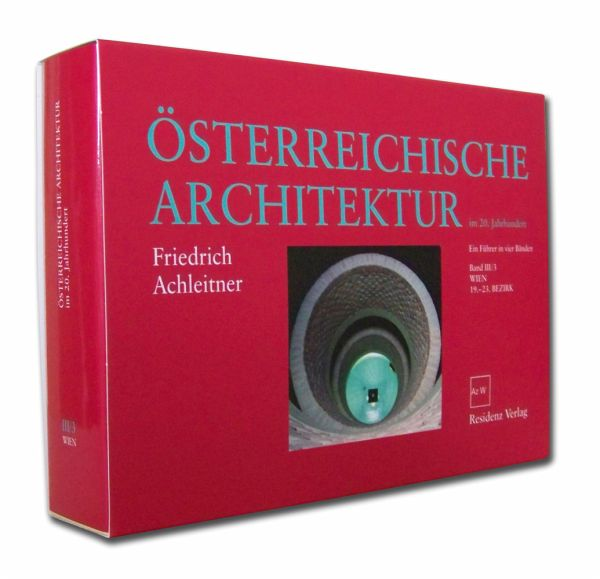 sterreichische architektur im 20 jahrhundert bd iii 3 von friedrich achleitner buch. Black Bedroom Furniture Sets. Home Design Ideas