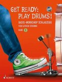 Get Ready: Play Drums!, m. Audio-CD