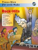 Rock-Hits, für Klavier, m. Audio-CD