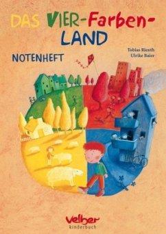 Das Vier-Farben-Land, Notenheft