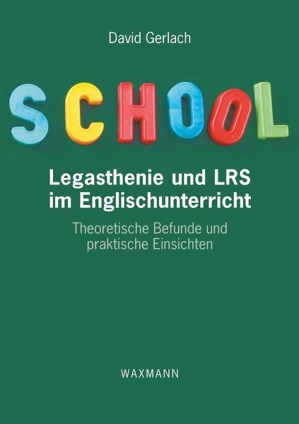 Legasthenie Und Lrs Im Englischunterricht Von David Gerlach Fachbuch Bucher De