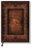 Premium Book Brown Book Notizbuch liniert