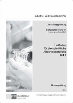 PAL-Leitfaden für die gestreckte Abschlussprüfung Teil 1 - Biologielaborant/-in