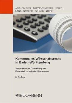 Kommunales Wirtschaftsrecht in Baden Württemberg