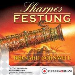 Sharpes Festung / Richard Sharpe Bd.3 (10 Audio-CDs)