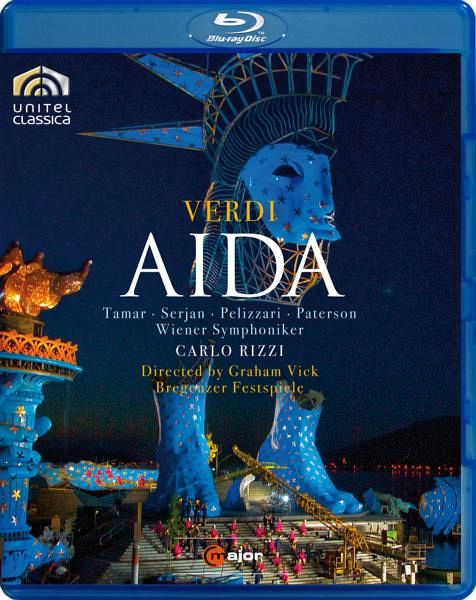 Verdi, Giuseppe - Aida - Rizzi/Serjan/Pelizzari/Wso