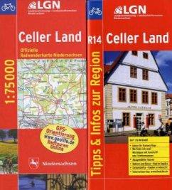 LGN Radwanderkarte Niedersachsen - Celler Land