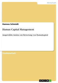 Human Capital Management - Schmidt, Hannes