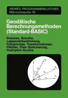 Geodätische Berechnungsmethoden (Standard-BASIC)