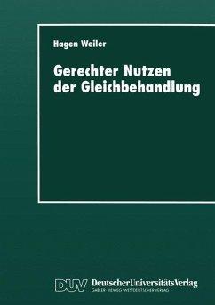 Gerechter Nutzen der Gleichbehandlung - Weiler, Hagen