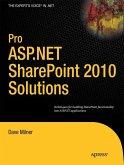 Pro ASP.NET SharePoint 2010 Solutions