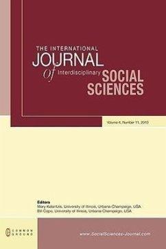 The International Journal of Interdisciplinary Social Sciences: Volume 4, Number 11 - Herausgeber: Kalantzis, Mary Cope, Bill