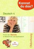 Kannst du das? 4. Klasse Deutsch