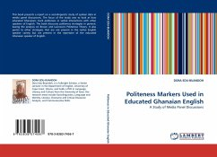 Politeness Markers Used in Educated Ghanaian English