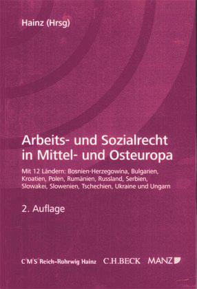 arbeits und sozialrecht cee von bernhard hainz fachbuch. Black Bedroom Furniture Sets. Home Design Ideas