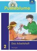 Pusteblume. Das Sachbuch 2. Arbeitsheft. Thüringen