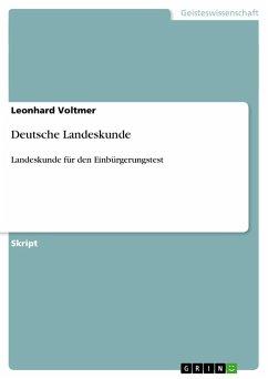 Deutsche Landeskunde - Voltmer, Leonhard