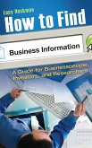 How to Find Business Information