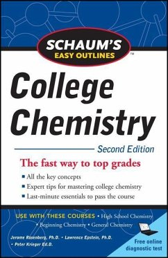 Schaum's Easy Outlines of College Chemistry, Second Edition - Rosenberg, Jerome
