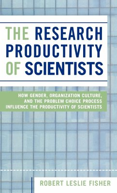 The Research Productivity of Scientists - Fisher, Robert Leslie