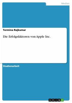 Die Erfolgsfaktoren von Apple Inc. - Rajkumar, Termina