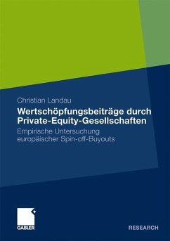 Wertschöpfungsbeiträge durch Private-Equity-Gesellschaften