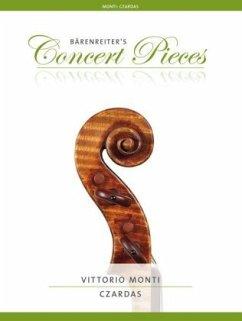 Czardas, Violine und Klavier, Violinenstimme u. Klavierpartitur