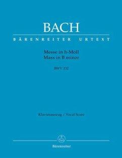 Messe h-Moll BWV 232, Klavierauszug