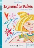 Le journal de Valérie. Buch mit Audio-CD