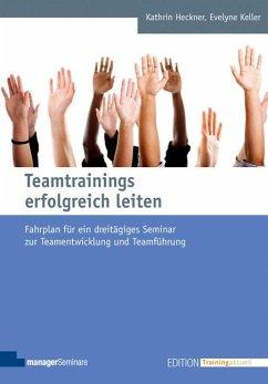 Teamtrainings erfolgreich leiten - Heckner, Kathrin; Keller, Evelyne