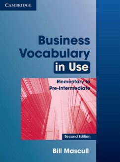 Business Vocabulary in Use. Edition with answers - Mascull, Bill