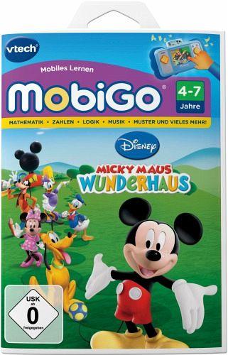 VTech 80-250504 - MobiGo: Lernspiel Micky