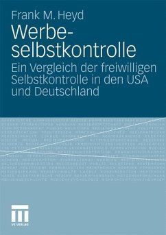 Werbeselbstkontrolle - Heyd, Frank M.