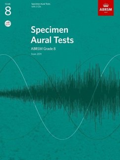 Specimen Aural Tests, Grade 8, with 2 CDs