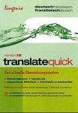 translate quick Französisch Version 12, 1 CD-ROM